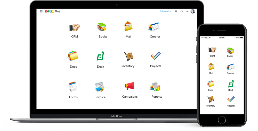 Zoho One Applications