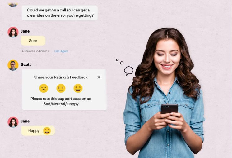 customer engagement platform - live chat support